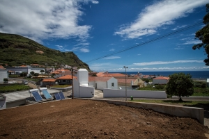 Ausblick von unserer Terrasse im Guesthouse Comodoro